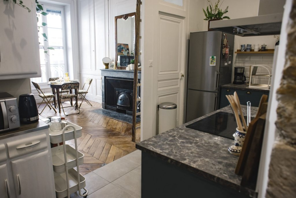 Appartement Vénissieux salon