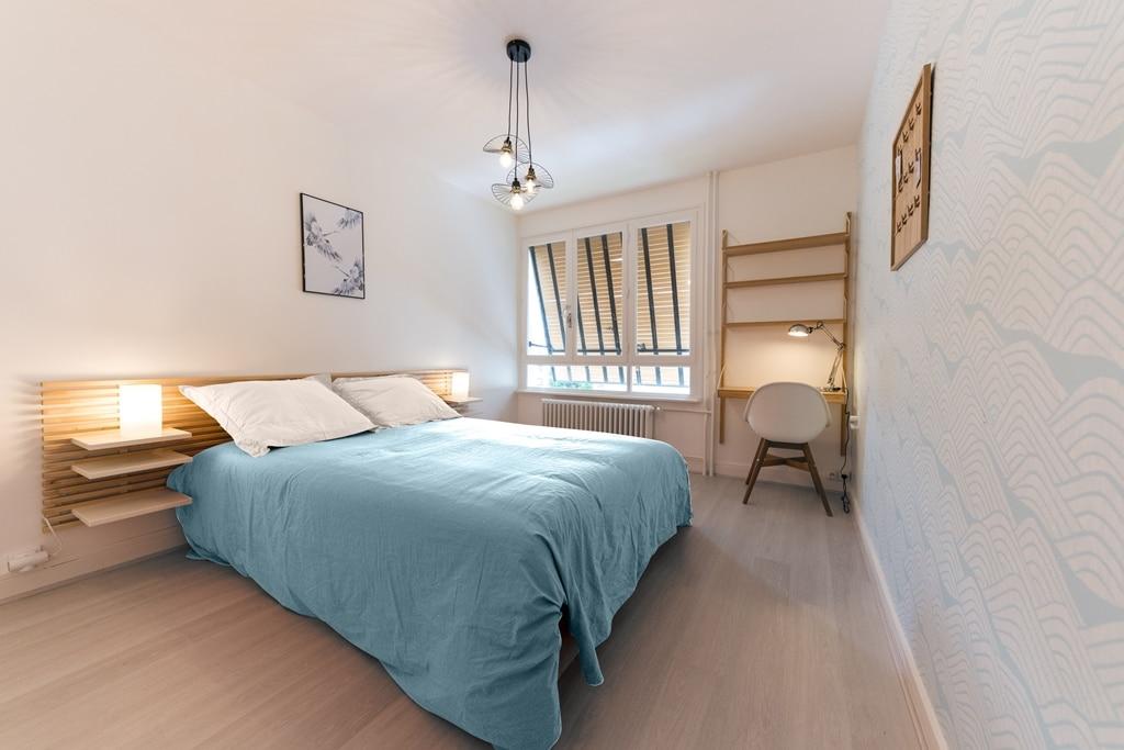Appartement Venissieux (23) bleu